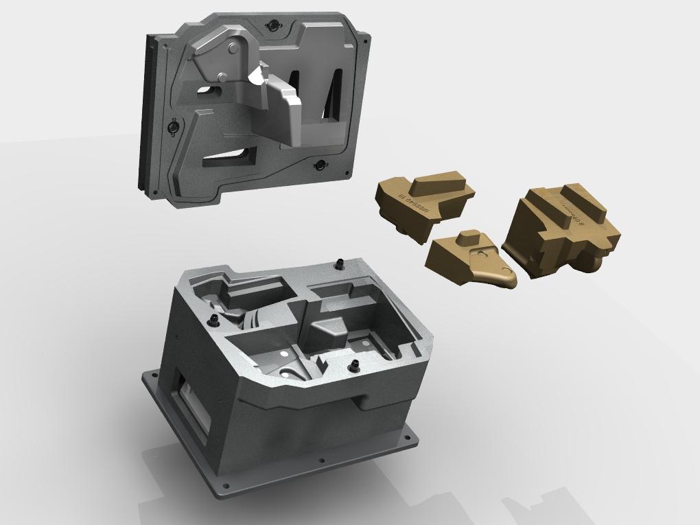 WF Modelação e Ferramentaria - Caixas de Macho - Caixa de Macho 25 Lts Horizontal