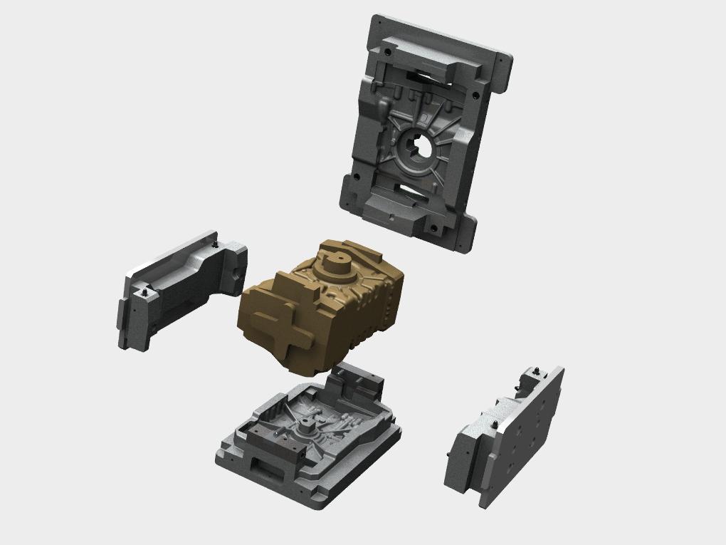 WF Modelação e Ferramentaria - Caixas de Macho - Caixa de Macho 60 Lts