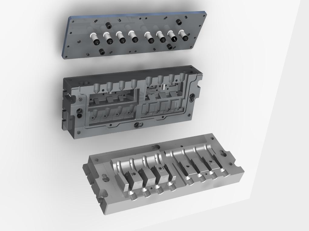 WF Modelação e Ferramentaria - Caixas de Macho - Caixa de Macho Cold Box