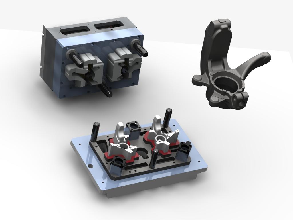 WF Modelação e Ferramentaria - Dispositivos - Dispositivo Rebarbador de Fundidos