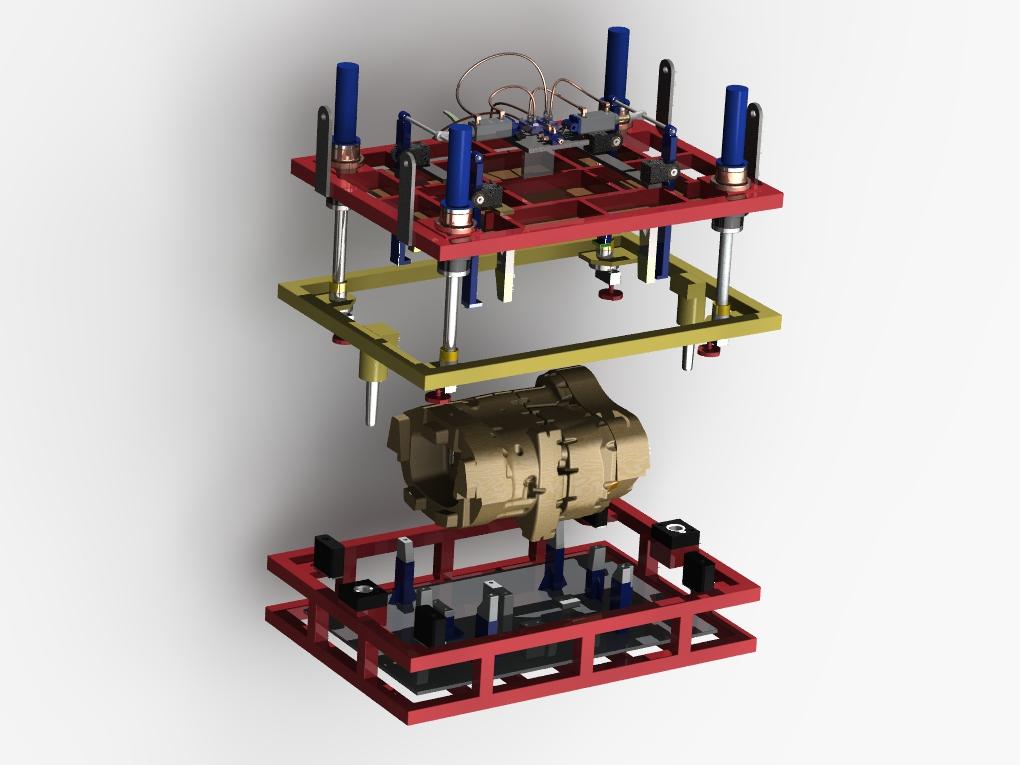 WF Modelação e Ferramentaria - Dispositivos - Dispositivo para Assentamento de Machos