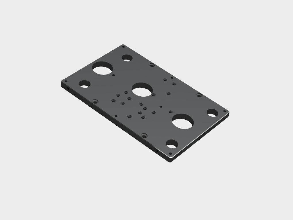 WF Modelação e Ferramentaria - Peças de Reposição para moldes - Placa