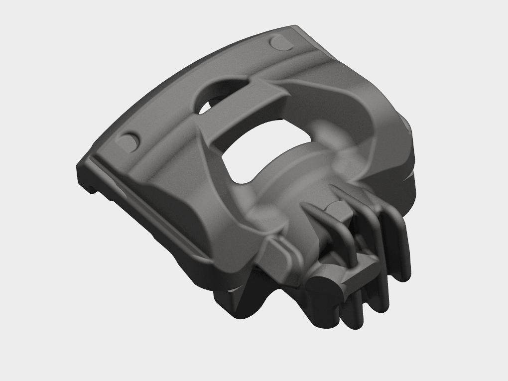 WF Modelação e Ferramentaria - Protótipos - Suporte caliper