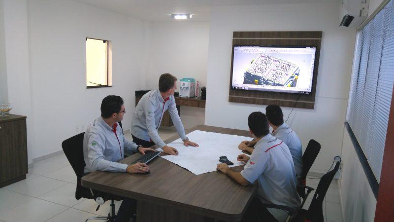 WF Modelação - Sala de reunião
