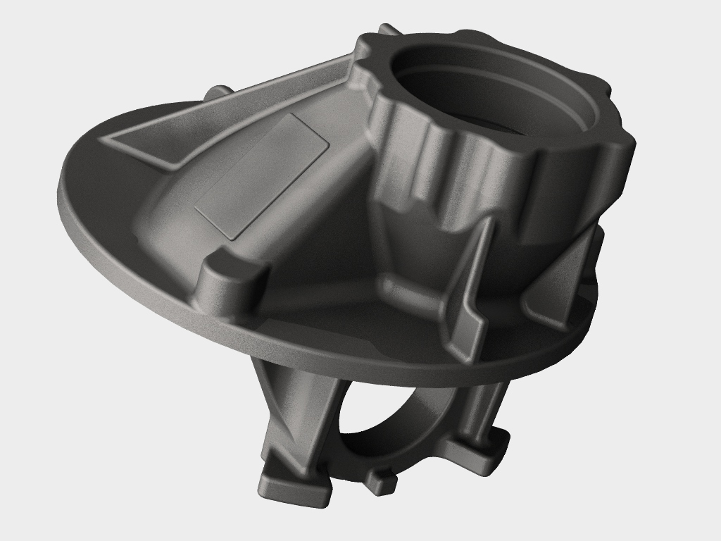 WF Modelação e Ferramentaria - Protótipos - Carcaça Diferencial