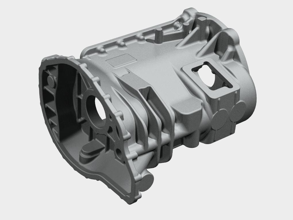 WF Modelação e Ferramentaria - Protótipos - Carcaça de Transmissão