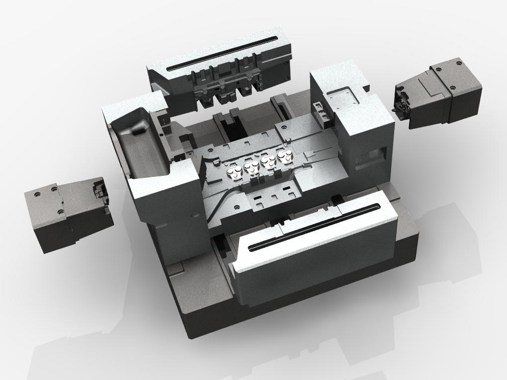 WF Modelação e Ferramentaria - Coquilhas - Coquilha para Cabeçote