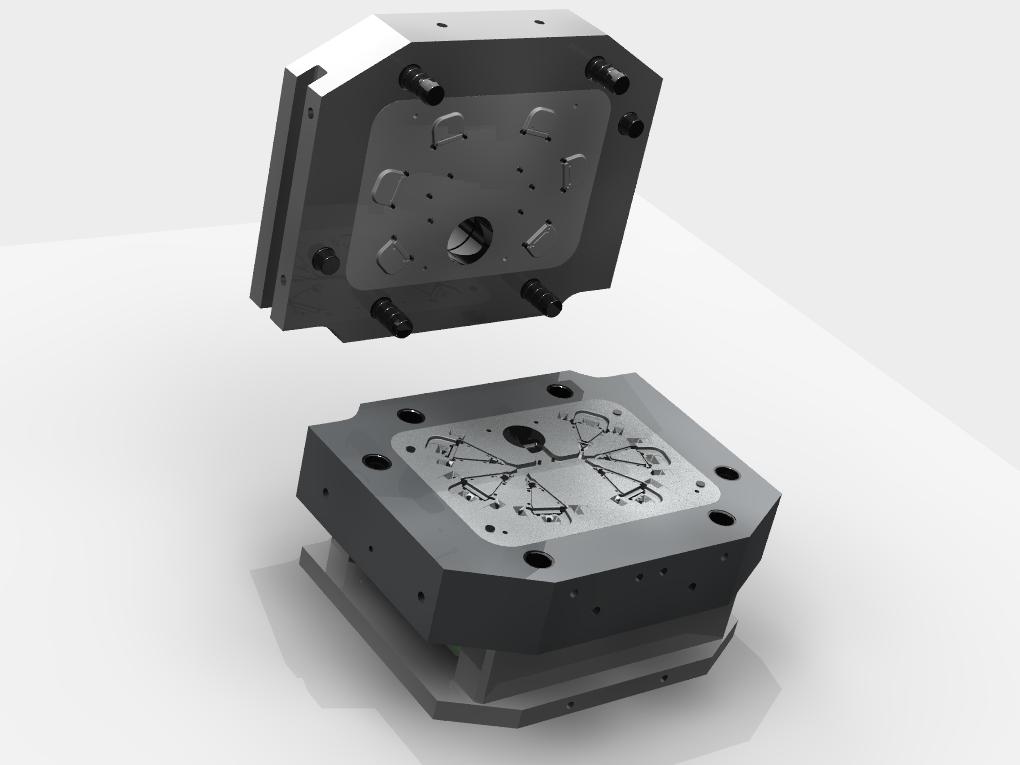 WF Modelação e Ferramentaria - Moldes de injeção - Molde de Injeção
