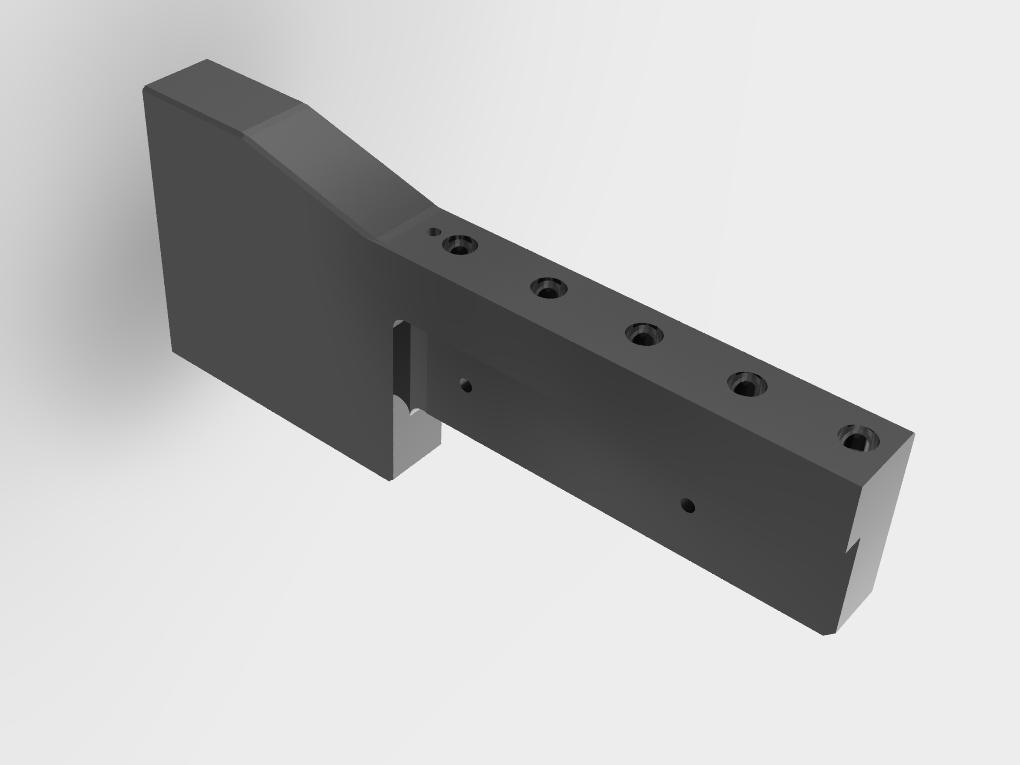 WF Modelação e Ferramentaria - Peças de Reposição para moldes - Régua
