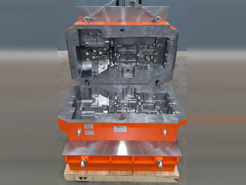 WF Modelação e Ferramentaria - Caixas de Macho - Caixa de Macho para sopro Cold Box