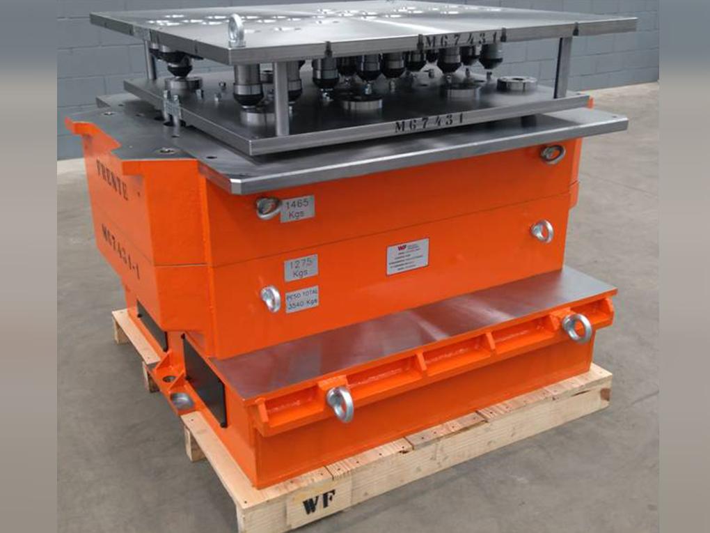 WF Modelação e Ferramentaria - Caixas de Macho - Caixa de Macho para Sopro